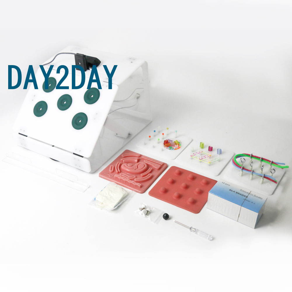 Laparoscopic Surgery Training Box set Student Doctors nurse Simulated Surgical Equipment Teaching Practice Tools 4