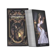 Hot Sale 78PCS Tarot Cards Steampunk Tarot Table Deck Board