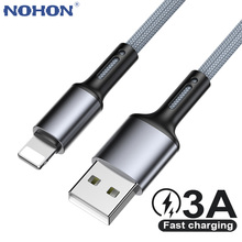 USB Cable For iPhone 12 11 Pro Max X XS 5 6 7 8 Plus Apple iPad Origin Fast Charge Charger Data Short Long 2m 3m Phone Cord Wire
