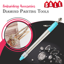 Diamentowy długopis do malowania Bling go na akcesoria do haftu diamentowe narzędzia malarskie diy narzędzia dekoracyjne tanie tanio PLANT Europa