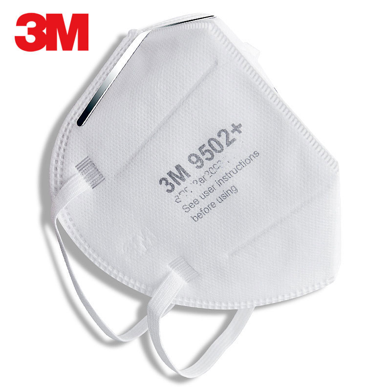 10pcs Individual Packaging 3M Respirator Masks Anti-Dust Organic Vapor Particle PM2.5 Protect Disposable Face Mouth Safety Mask