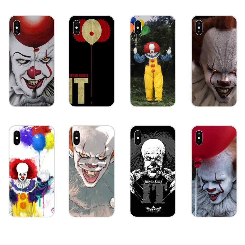 Stephen King 'S Pagliaccio Horror Diy Painted For Xiaomi Mi3 Mi4 Mi4C Mi4i Mi5 Mi 5S 5X 6 6X 8 SE Pro Lite A1 Max Mix 2 Note 3 4