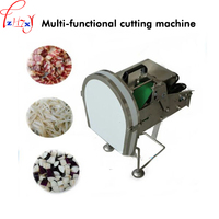Commercial electric cutting machine Food slicing vegetable cutter machine multi-function cutting 220/380V