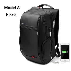 Image 2 - Kingsons KS3140 Men Women Laptop Backpack Business Leisure Travel School Bag Backpackwith USB Charge Multi function Waterproof