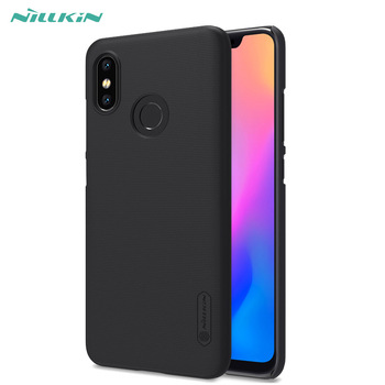 For Xiaomi Mi 8 Case for Xiaomi Mi8 Cover Nillkin Frosted Matte Case hard back cover for Xiao Mi 8 Cover Case with Gift