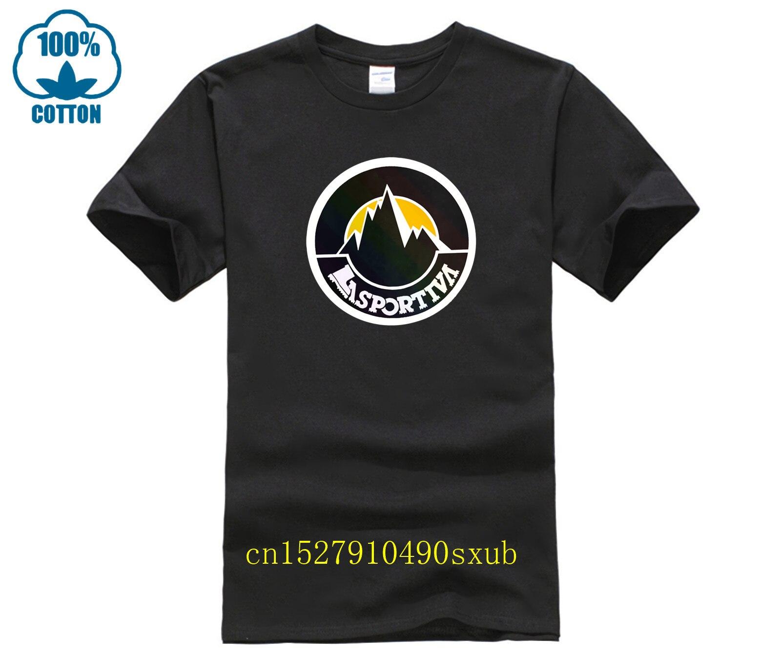 Camiseta con Logo de La Sportiva para hombre, mascarilla de boca en algodón lavable y reutilizable