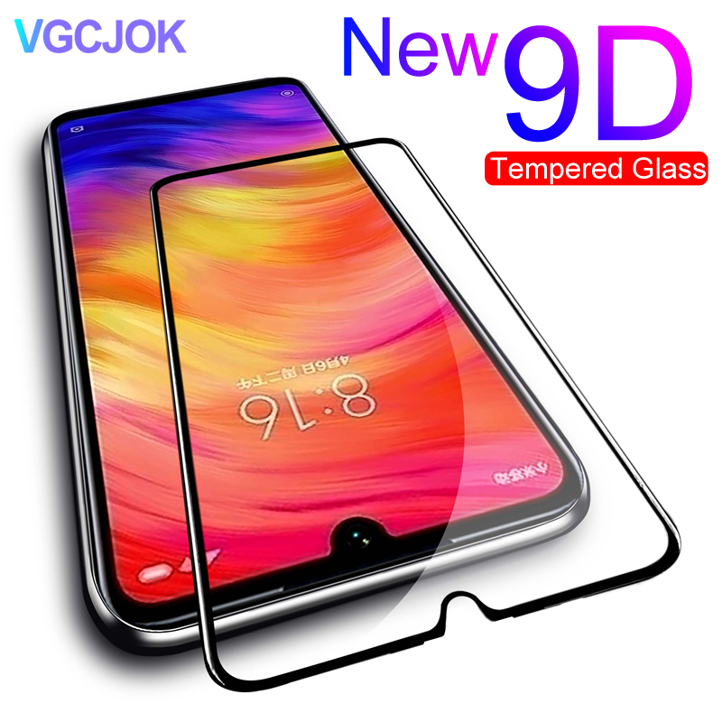 9D Tempered Glass On The For Xiaomi Redmi 7A 8A 6A GO S2 Screen Protector Glass For Redmi Note 6 7 8 Pro Glass Protective Film