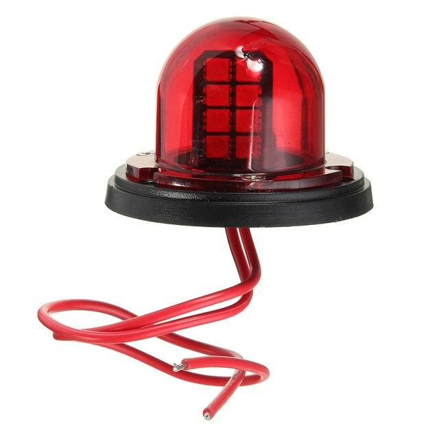 1Pair 12V Stainless Steel Red Green Bow LED Navigation Lights Boat Marine Indicator Spot Light Marine Boat Yacht Sailing Light 3