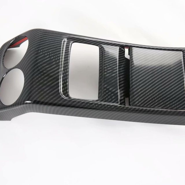 For Mercedes-Benz GLA-Class GLA200 220 250 2020 2021 Rear Armrest Air Outlet Panel Cover Trim Car Interior Accessories 3