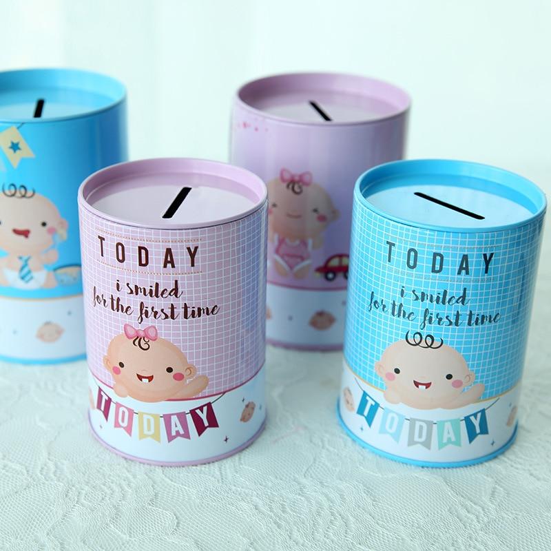Nouveau Mini boîte de récipient en étain boîte de bonbons de fête de mariage bébé douche faveur coffrets cadeaux fournitures d'événement emballage cadeaux boîtes pour invité