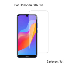 2pcs For Huawei Honor 8A / Honor 8A Pro Premium 2.5D 0.26mm Tempered Glass Screen Protector For Huawei Honor 8A Protective Glass 2pcs full cover tempered glass for huawei honor 8a pro honor 8a protective glass screen protector for huawei honor 8a pro