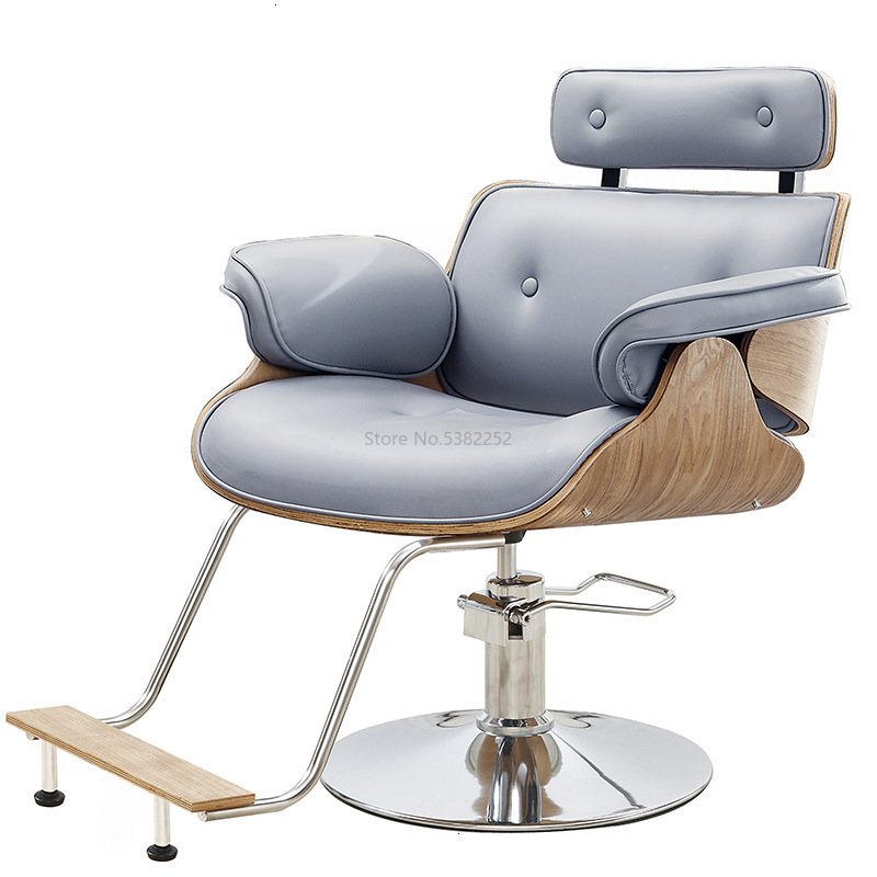 Beauty Salon The Barber Shop Chair Hairdressing Chair Haircut Chair Haircut Chair Can Lift Rotating Can Go Down Chair And Chair