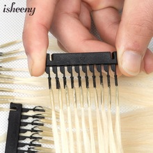 Hair-One-Generation Human-Hair Micro-Link Isheeny 40-60cm Blonde 100-Strands Invisible