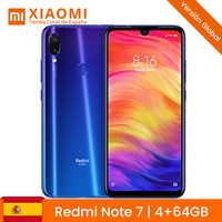 """Nota Xiaomi Redmi 7 4 GB 64 duro GB 48MP Dual Camara 13MP 6,3 """"Dello Schermo di goccia di pioggia batteria 4000 mAh"""