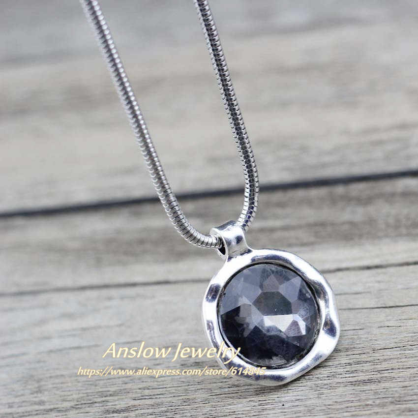 Anslow Новое персонализированное креативное ювелирное короткое ожерелье для женщин, женское ожерелье с подвеской, подарок для любимых друзей LOW0079AN