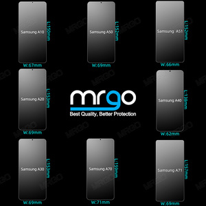 Image 3 - Vetro temperato per Samsung A51 A50 A70 Protezione Dello Schermo di Vetro A51 Obiettivo di Vetro per Samsung Galaxy A50 A51 A10 A01 a30 A40 A20 A71