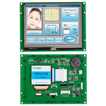 5.6 TFT LCD Display With RS232/ RS485/ TTL UART Interface  For Industrial Use 4 3 inch hmi tft lcd display with serial interface rs232 rs485 ttl for equipment use
