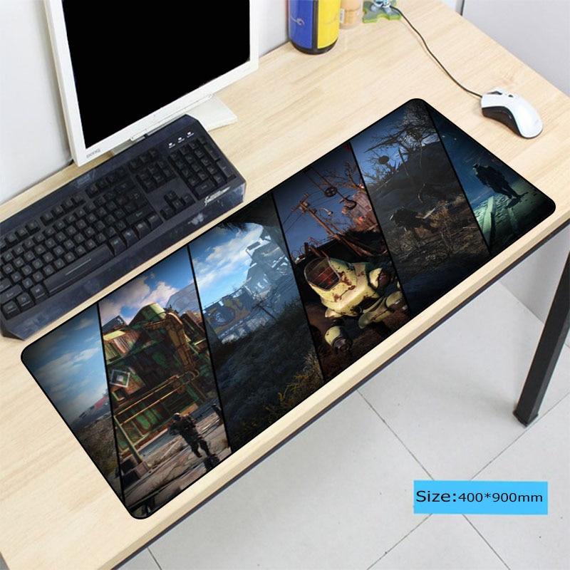 Fallout Large Size Mouse Pad Anti-slip Natural Rubber PC Computer Gaming Mousepad Desk Mat For LOL Surprise Cs Go DOTA