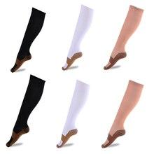 2 шт., спортивные носки, гетры, компрессионные носки унисекс, Анти-усталость, компрессионные носки, облегчение боли в ногах