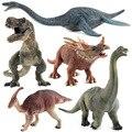 Игрушечная модель динозавра, юрский тираннозавр, индоминус Рекс, Трицератопс, бронтозавр для мальчиков, подарок на Рождество и день рождени...