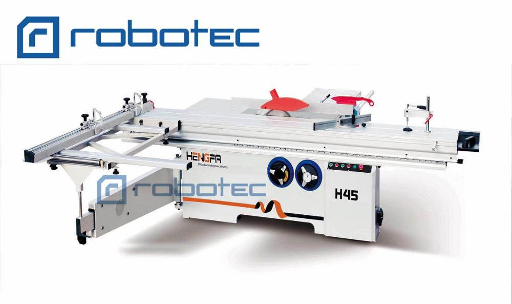 2800mm Woodworking Sliding Table Saw/panel Furniture Sawing Machine With Manual Tilting Saw Blade