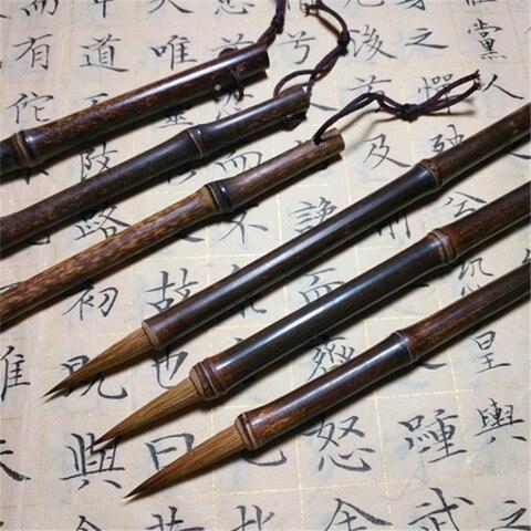 fina chinesa pintura pinceis de escrita 2