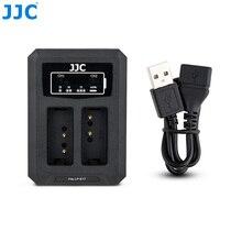 Зарядное устройство JJC USB для двух батарей для Canon LP E17 LPE17 на Canon EOS 850D M6 Mark II M6 M3 77D 800D 760D 750D, запасная деталь