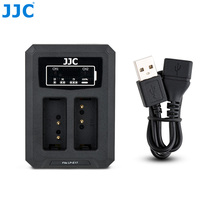 JJC USB المزدوج شاحن بطارية لكانون LP E17 LPE17 على كانون EOS 850D M6 مارك الثاني M6 M3 77D 800D 760D 750D استبدال LC E17C LC E17