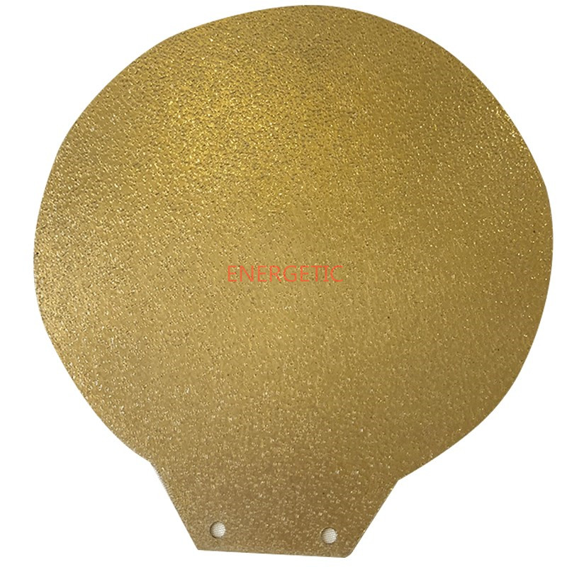 ENERGETIC New Upgrade Powder Coated PEI(one Side) Round Spring Steel Sheet Heat Bed + Magnetic Base Round Dia 115/240/300/380mm