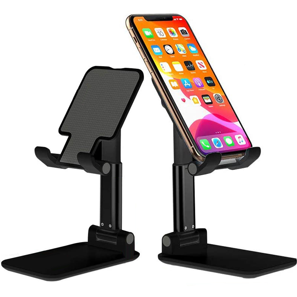 Metal Desktop Tablet Phone Stand Holder Portable Foldable Extend Mobile Phone Holder Universal Table For IPhone IPad Xiaomi