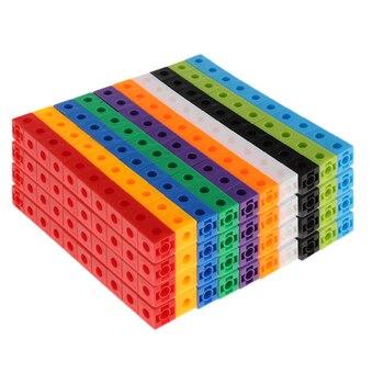 10 Colors 400pcs Math Manipulative Mathlink Cubes, Early Math Skills, 1