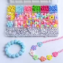 Candy Color Transparent Initials Beads Acrylic Round Letter Space Beads For DIY Making Necklace Bracelet Jewelry Free shipping