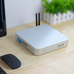 Mini PC Intel Core i5 7200U 3317U i7 4500U Windows 10 USB*6 Mini Computer Cooler Desktop minipc WIFI HDMI HD Graphics 4400