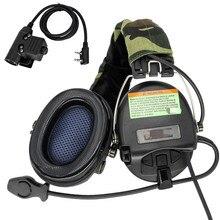 TCIHEADSET Electronic Shooting Headset MSASORDIN Airsoft Military Headphone Pickup Noise Reduction Hearing Protection Earmuffs