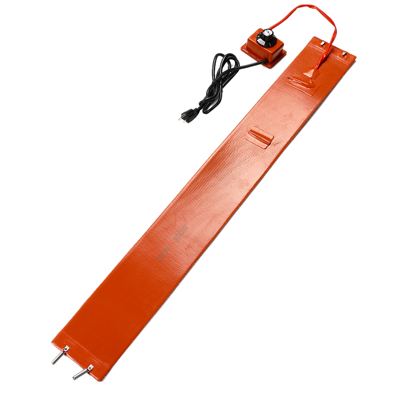 300W 220V Silicone Rubber Heating Blanket For Guitar Side Bending Knob Temperature Control Guitar Parts Accessories Orange
