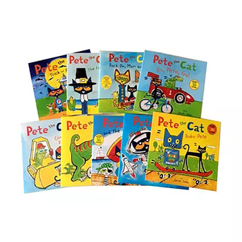 9 Books/set I Can Read Pete The Cat Picture Books Children Baby Famous Story English Tales Child Manga Book Farmyard Book Set 6 books set i can read pete the cat kids classic story books children early educaction english short stories reading book