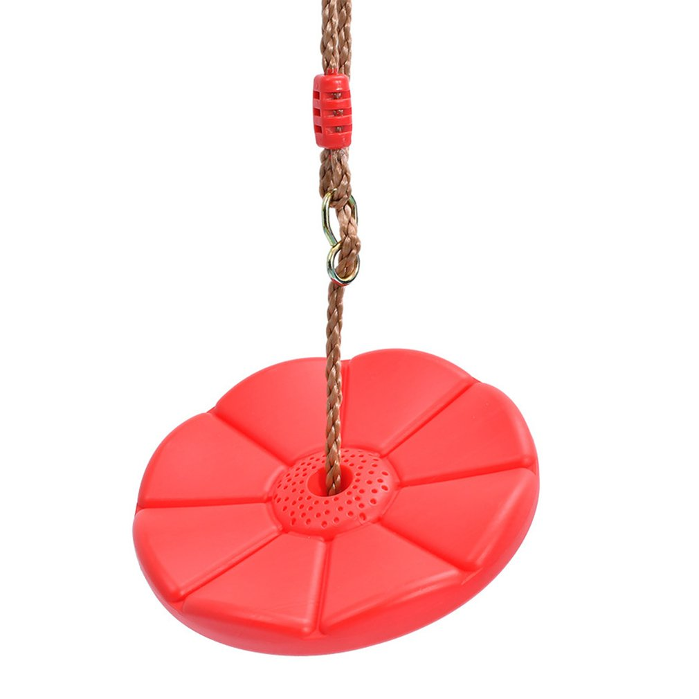 Kids Outdoor Indoor Plate Swing Monkey Swings Round Plate Swing Seat Toys For Chhildren Funny Sport Birthday Gift Game Toys