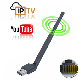 Wireless USB WiFi Antenna USB RJ45 Ethernet Network Adapter MTK7601 88772 Koqit k1 U2 satellite receiver DVB S2 DVB T2 TV Box image