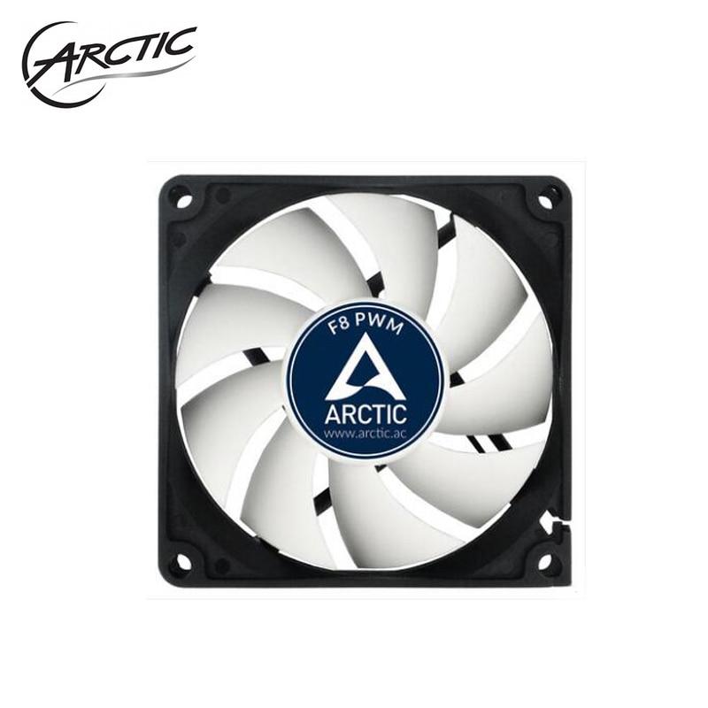 F8 PWM REV.2 ARCTIC Computer Case 8cm Fan 4pin PMW Temperature Control /4pin Adjust 80mm Watercooling Fans
