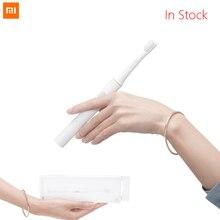 Xiaomi فرشاة أسنان كهربائية ذكية Mijia T100 Mi ، عمر بطارية 30 يومًا ، وضع التنظيف بسرعتين ، 46 جرام ، أفضل هدية للعائلة