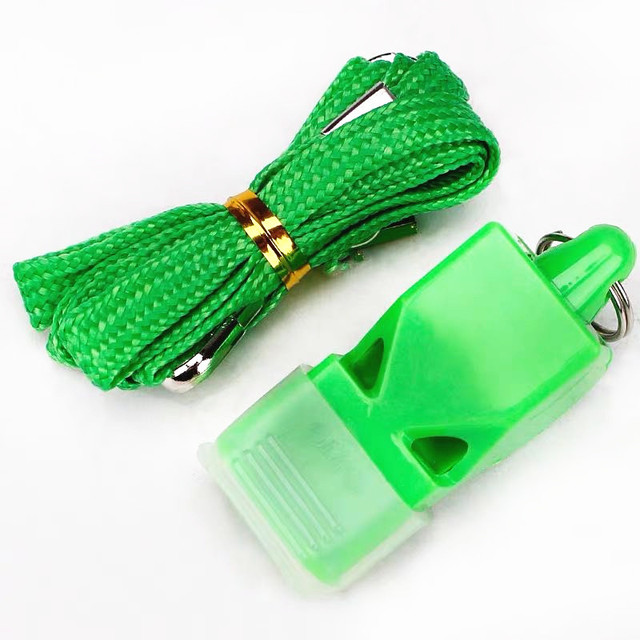 1Pcs Whistle Plastic Fox 40 Soccer Football Basketball Hockey Baseball Sports Referee dedicated Whistle Survival Outdoor Like 5