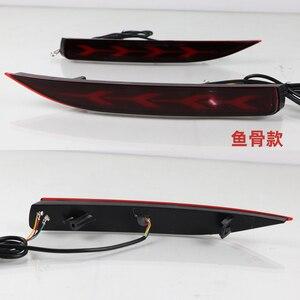 Image 4 - 2PCS Auto LED Reflektor Für Toyota Corolla 2019 2020 Auto LED Hinten Nebel Lampe Bumper Licht Bremsleuchte Dynamische blinker