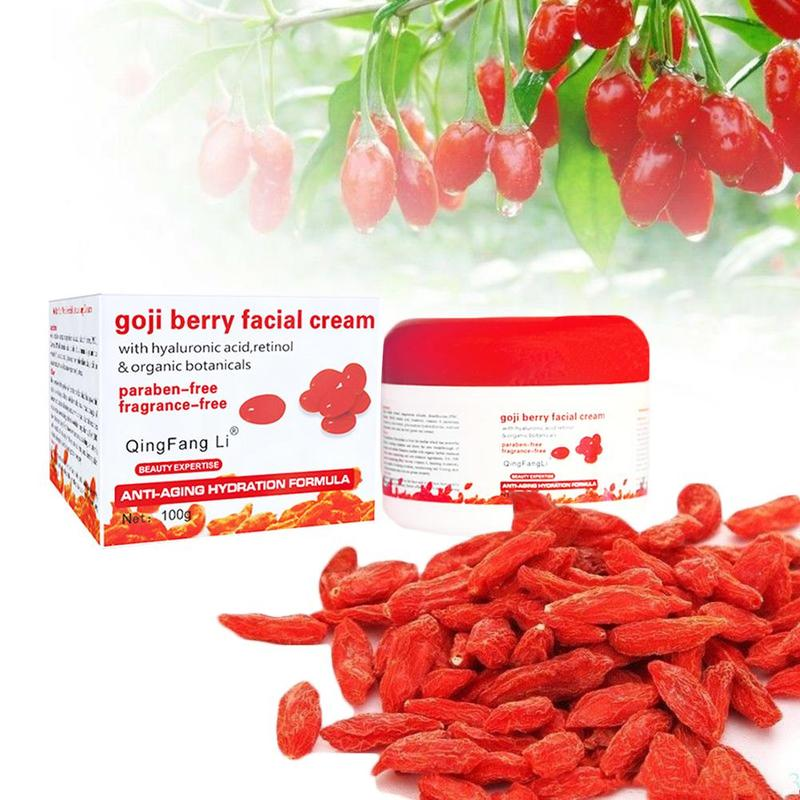 Goji Berry Cream Facial Moisturizing Removes Deep Wrinkles Chinese Skin Care Removes Spots