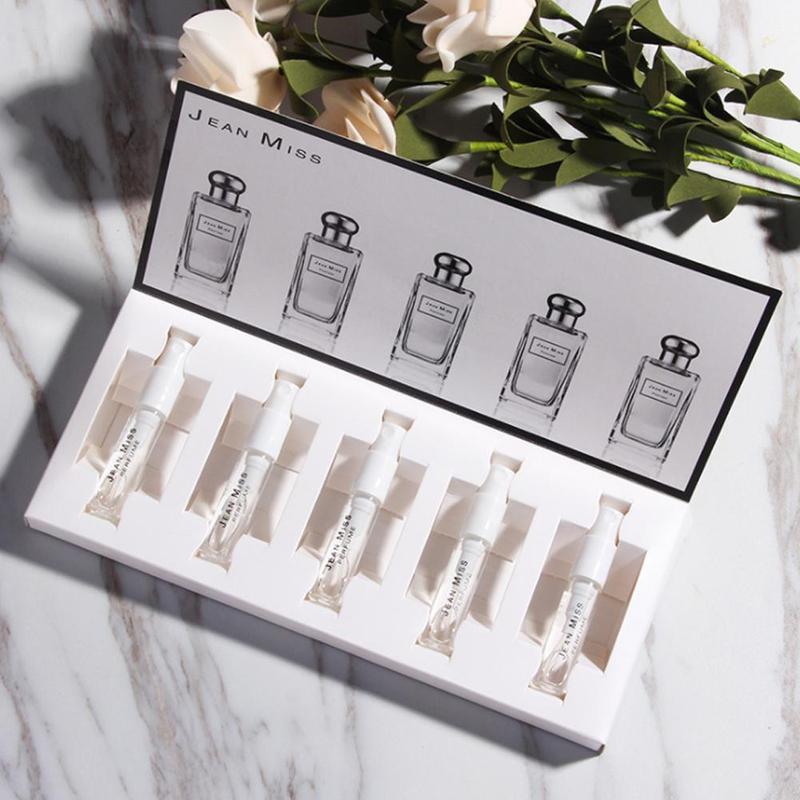 5PCS/lot Female Parfum Women Perfume With Pheromones Long Lasting Flower Fruit Fragrance For Women & Men Sweat Deodorant