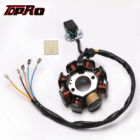 TDPRO Motorcycle 8 Pole Ignition Coil Magneto Stator Fit For 125cc 150cc 250CC Quad ATV Zongshen Pit Dirt Bike Go Kart Scooter