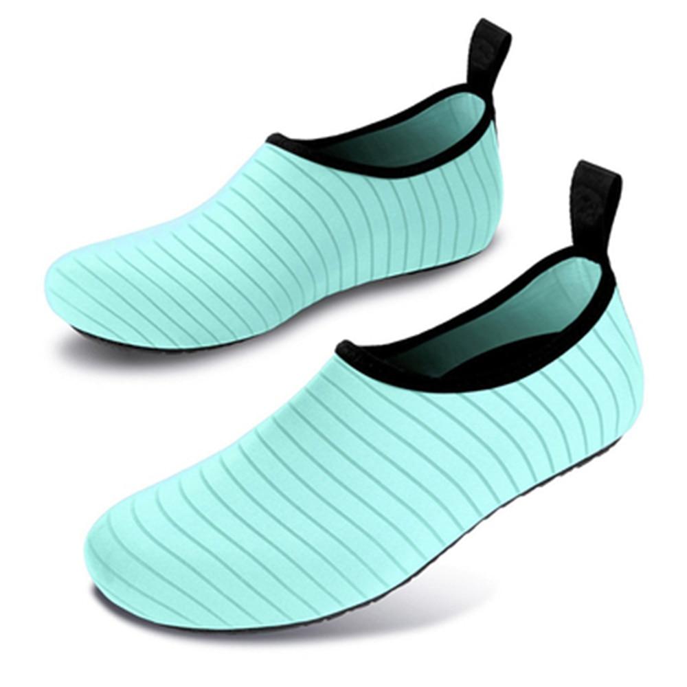 Sapatos de praia Das Mulheres Dos Homens de Natação Água A Montante Do Aqua Mar Verão Esporte Ao Ar Livre Com Os Pés Descalços Pele Ginásio Sneaker Pesca Respirável Chinelo