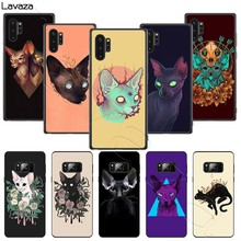 Lavaza cute Sphynx Sphinx Cat Soft Case for Samsung Note A3 A5 A6 A7 A8 A9 A10s A20s A30s A40s A50s 10 A70 8 9 J6 Plus(China)