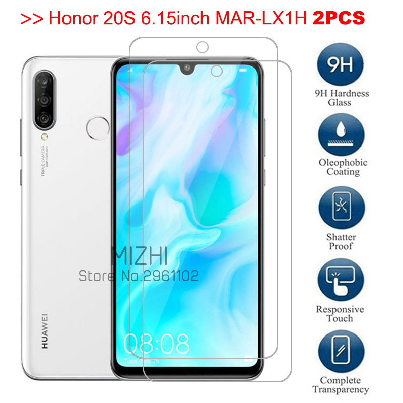 Original Glass For Huawei Honor 20s Screen Protector Protective Glass On Honor 20 S20 MAR-LX1H Honor20s Safety Film 6.15 6.26