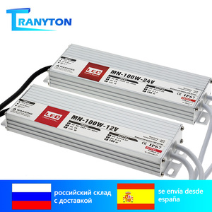 LED Driver DC12V 24V IP67 Waterproof Lighting Transformers for Outdoor Light 12V Power Supply 10W 20W 30W 45W 60W 100W 200W 300W(China)