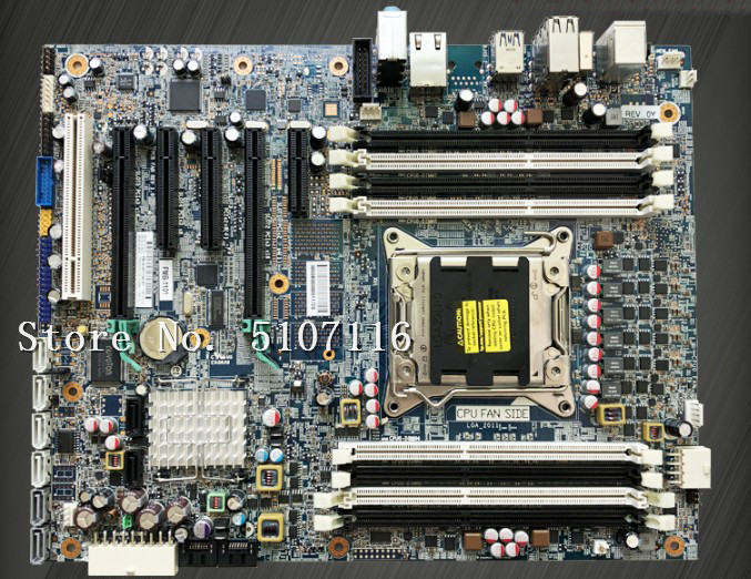 High Quality Desktop Motherboard For Z420 C602 X79 708615-001 618263-003 Will Test Before Shipping